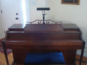 Baldwin Acrosonic Spinet Piano & matching bench