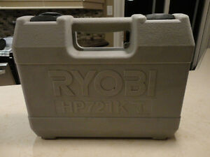 EMPTY CASE For a Ryobi HP721K Hammer Drill - Empty Case only Kitchener / Waterloo Kitchener Area image 2