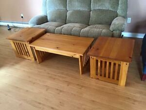 Coffee and end table set. $100