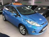 2009 FORD FIESTA ZETEC 16V Blue Manual Petrol
