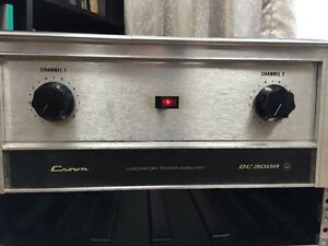 Power Amp Crown DC 300 A - credit cards accepted