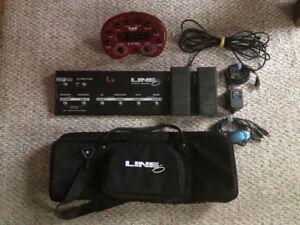 Line 6 POD 2.0 & floor controller