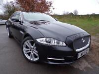 2012 Jaguar Xj 3.0d V6 Premium Luxury 4dr Auto Ivory Leather! Rear Camera! 4...
