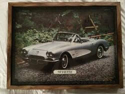 Collectable 1959 Corvette Wall Clock. '59 'Vette