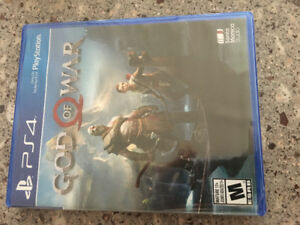 God of war for PS4- New in plastic wrap