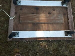 2 heavy duty floor dollys   FIRST $60TAKES BOTH !!!   ~