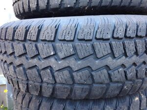 Winter tires and rims 235/70R16