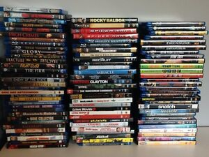 Collection of Blu-Rays & DVD's