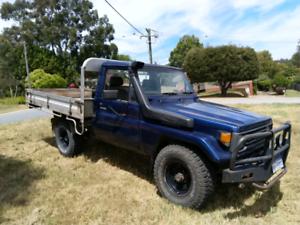 Toyota Landcruiser 75 series Registered Work Ute Need Gone Today