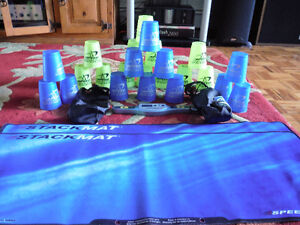 2 sets of speed stack cups