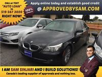 """CAR LOANS MADE EASY - BMW 528 - TEXT """"AUTO LOAN"""" TO 519 567 3020"""