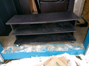 Ikea tv stand - black brown colour - $10