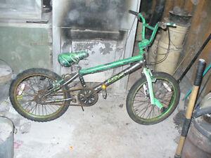 bmx/stunt  bikes i have a few to sale