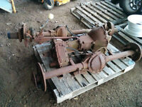 1968 axles, 3 speed trans and transfer case