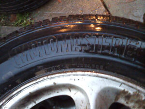 For Sale 2 brand new Motomaster AW2 & 2 goodyear tigerpaw tires London Ontario image 7