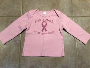 12-18 Months Breast Cancer Shirt