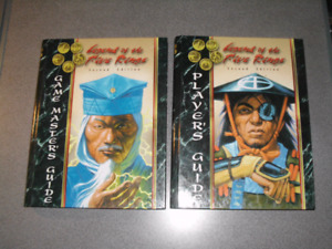 Legend of the Five Rings game books