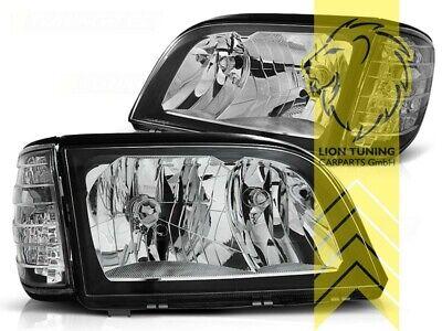 Design Scheinwerfer für Mercedes Benz W140 Limousine SE SEL S-Klasse schwarz