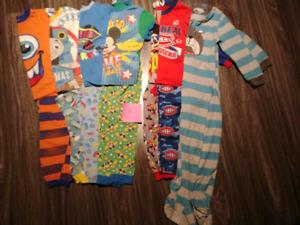 Lot pyjamas 4 ans
