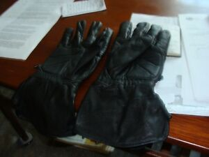 like new leather motorcycle gloves
