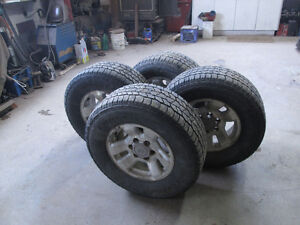 4 DISCOVERY W TIRES -TOYOTA 6 BOLT