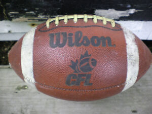 CFL leather football