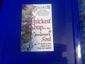New! Chicken Soup for the Gardener's Soul book