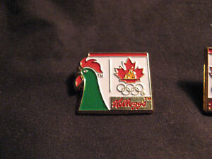 (2) 1988 Kellogg Olympic Pin / Badge COLLECTIBLES - very rare Belleville Belleville Area image 3