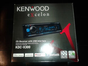 radio d'auto Kenwood excellon