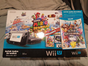 Wii U and Smash 4 with pro controller $150