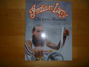 MOTORCYCLE BOOK INDIAN LARRY