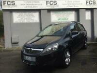 2013 Vauxhall Zafira 1.6 EXCLUSIV 5d 113 BHP MPV Petrol Manual