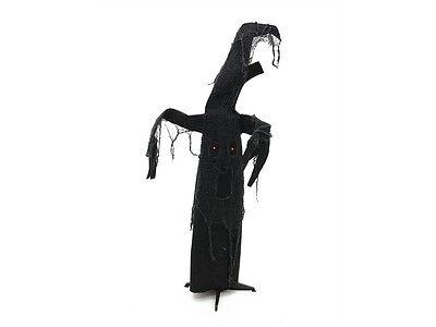 Sound Halloween (Halloween Figur Schwarzer Baum, Arme & Kopf animiert, LED-Augen & Sound)