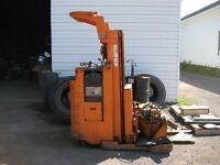 Clark electric forklift, 4000 lbs capacity, model  # NSP-40