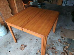 Kitchen / Dining Table + 2 Chairs