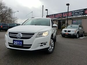 2011 Volkswagen Tiguan 4dr Auto 4Motion Leather , Power Group