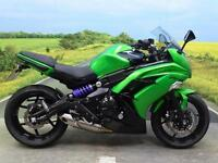 Kawasaki ER6 F ABS 2015 **LOWERING KIT FITTED**