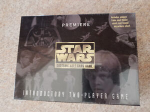 NEW SEALED STAR WARS INTRODUCTORY TWO-PLAYER GAME - PREMIERE