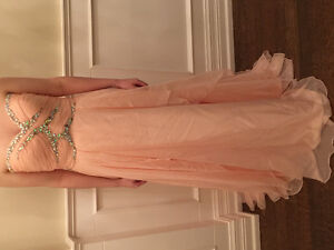 YAYA & CO PROM/Special occasion Gorgeous maxi pink dress SZ LG