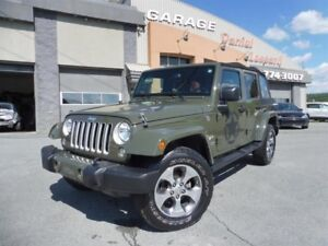 Jeep Wrangler Unlimited SAHARA, NAVIGATION, MAG 18 P, TOIT MOU,