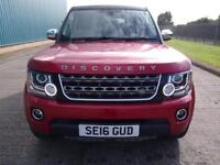 2016 Land Rover Discovery 4 VATQ SE Commercial Sd V6 Auto Big spec stunning l...