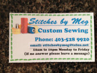 STITCHES byMEG--ALTERATIONS, SEWING, MENDING