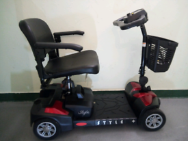 Brand new elite model folding mobility scooter