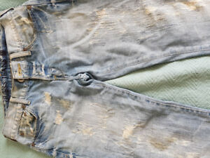 Jeans Mens Size 34 CK Calvin klein 32 Guess Stylish Cotton