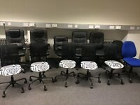 Office chairs to clear from £5 to £15