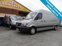 2016 65 MERCEDES-BENZ SPRINTER 2.1 313 CDI LWB 5D 129 BHP LASTEST 2016 MODEL ONL
