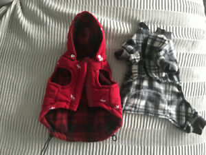 Cute Little dog outfits!!! Only 5.00 ! Never worn !