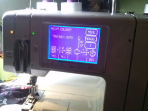 JANOME model 888 overlock 3,4 fils +point roulotte TUNEUPnov.17