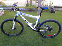 CCM Apex Mountain bike White/Blue