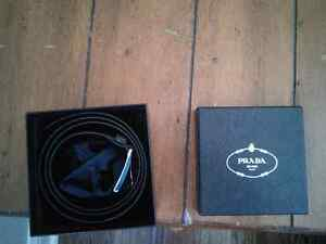 New Prada Leather Belt Kitchener / Waterloo Kitchener Area image 1